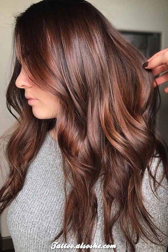 Best Auburn Hair Color Ideas That Are Hot This Fall Best Tattoo Design Hair Color Auburn Pretty Brown Hair Hair Color Highlights