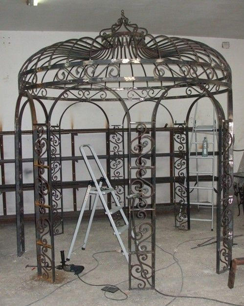 Pinterest the world s catalog of ideas - Pergola fer forge ...