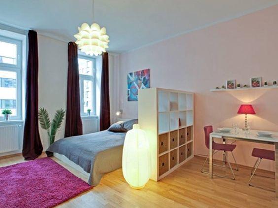 Wohn Und Schlafzimmer In Einem Raum Ideen #3 Living Pinterest - wohn und schlafzimmer in einem raum