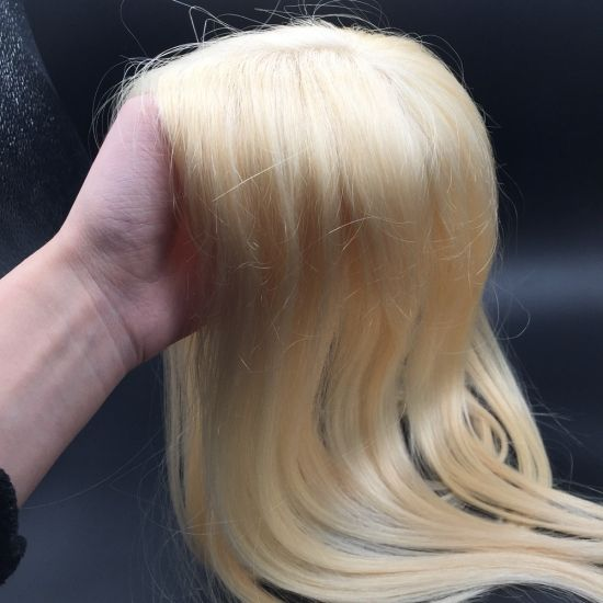 Human Hair Wigs Natural Blonde Wig Best Hair Toppers Human Hair Pieces Thin Hair Styles For Women Hair Toppers