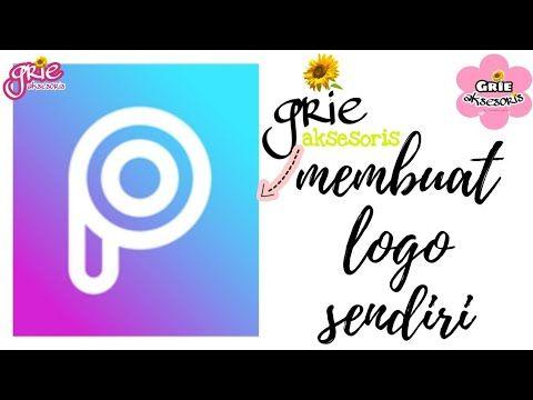 Cara Membuat Logo Online Shop Sendiri Melalui Aplikasi Picsart Membuat Watermark Foto Sendiri Youtube Picsart Aplikasi Youtube