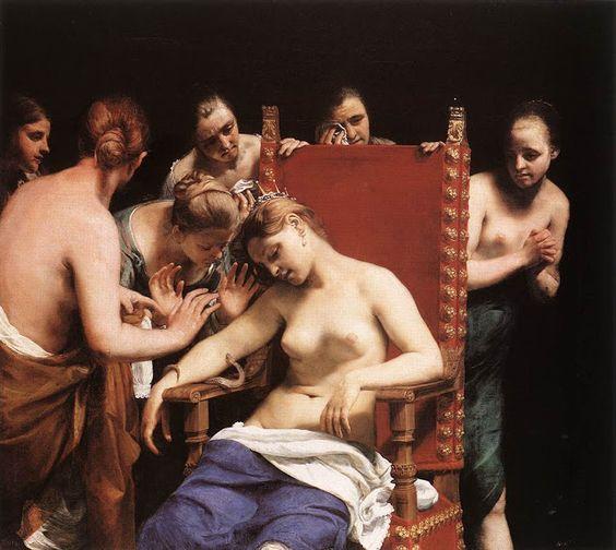 La Mort de Cléopâtre - Tableau !