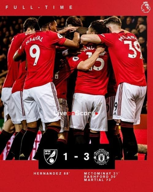 Norwich City 1 3 Manchester United Full Highlight Video Premier League Allsportsnews Football Highlightvid Manchester United Norwich City Premier League