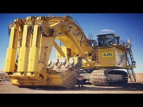 Amazing Dangerous Biggest Excavator Fast Heavy Equipment At Work