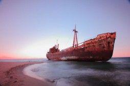 Lost Ship - Gythio, Greece