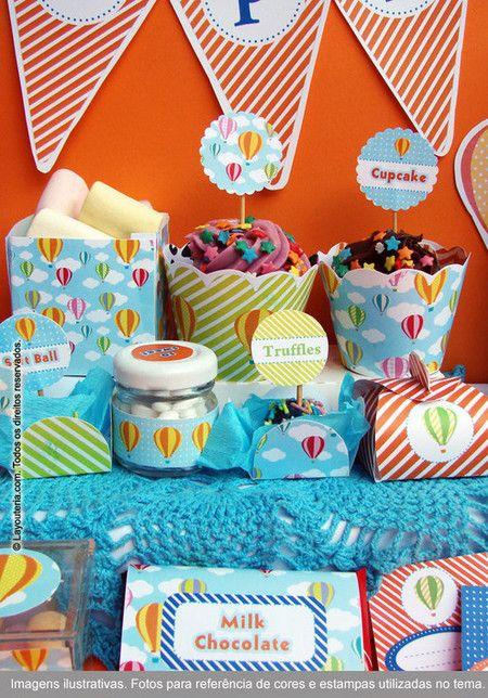 Balões Festa PDF - Festa Personalizada | Layouteria