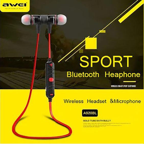 AWEI Wireless Bluetooth Headset Stereo Headphone  Earphone For iPhone Samsung LG https://t.co/FqgtgPzB8E https://t.co/RRFOWKLaXq