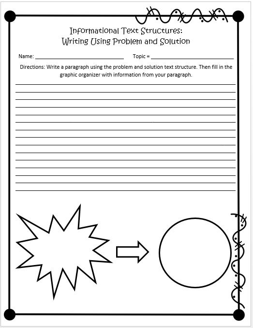 Printables Text Structure Worksheets 5th Grade informational text structures 4th and 5th grades activities the ojays graphic organizers