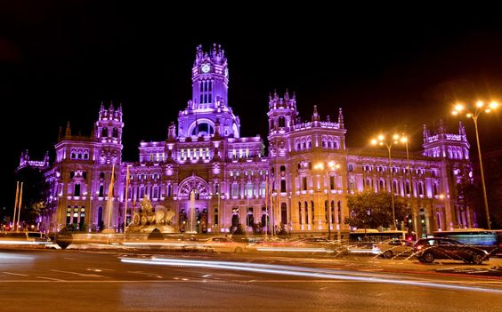 Plaza Cibeles, Madrid Spain.