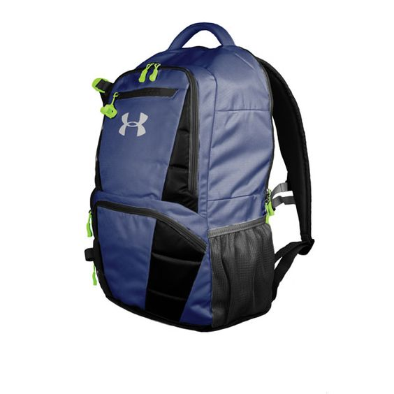 Under Armour Lacrosse Backpack.  This bag has a storm proof pocket to protect your phone.