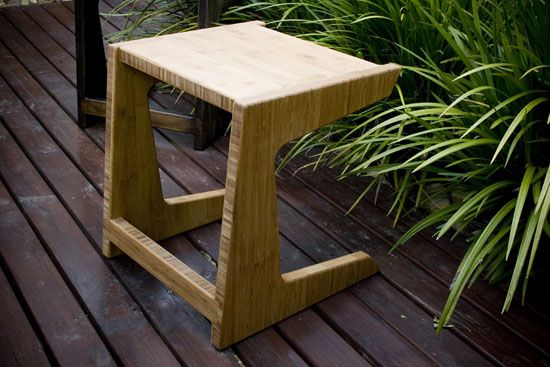 Furniture- cantilever stool