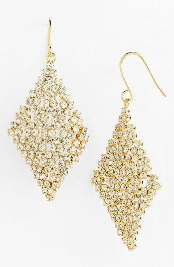 #Ralph Lauren             #Jewelry                  #Lauren #Ralph #Lauren #Crystal #Mesh #Drop #Earrings                         Lauren Ralph Lauren Crystal Mesh Drop Earrings                                http://www.seapai.com/product.aspx?PID=5289933