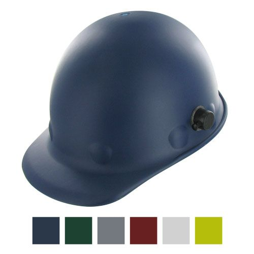 Fibre Metal #Roughneck Hard Hat - Quick-Lok & Swingstrap Suspension