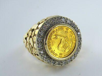 Krugerrand Gold Ring Value