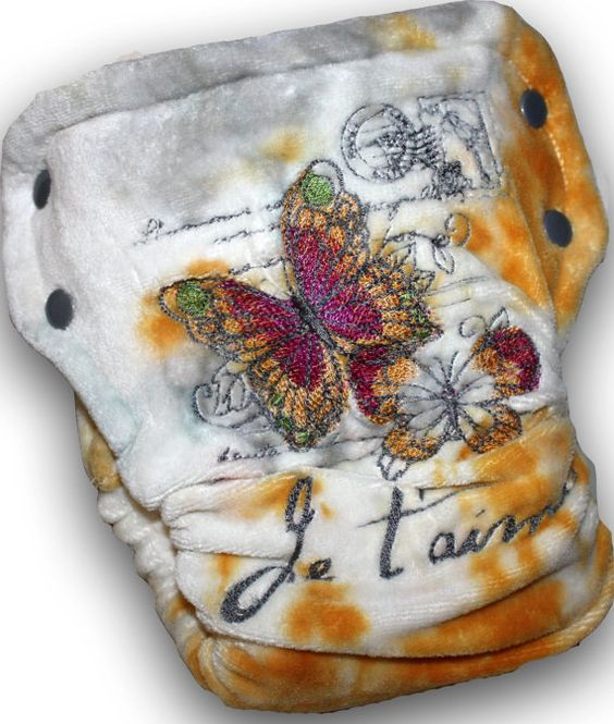 Je T'aime  Toddler Organic Bamboo Velour AI2 by HoldensLanding, $44.00