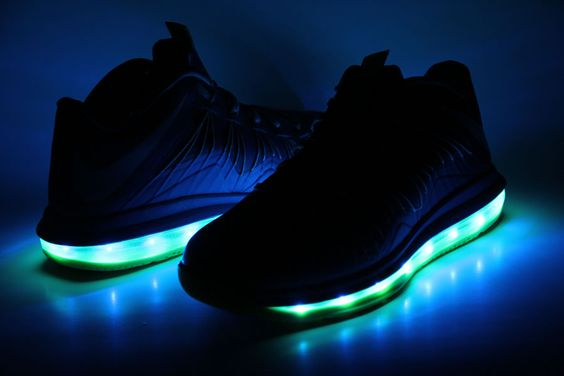 nike light up shoes green 360b358fe