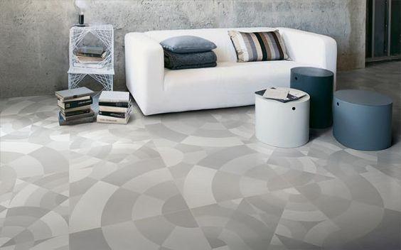 Beautiful tile floor pattern... Cersaie in Bologna die Kollektion FRAME-UP mit vier neuen Dekoren vor