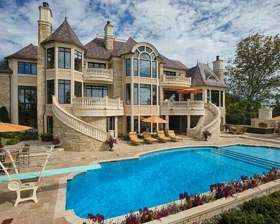 Awesome mansion awesome mansions pinterest mansions for Amazing mansions