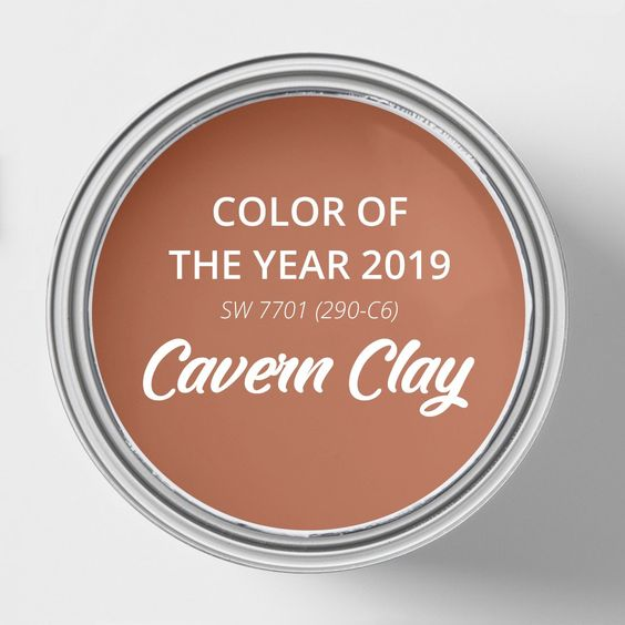 Sherwin-Williams has released its 2019 Color of the Year: Cavern Clay.