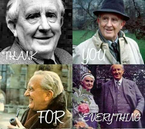 Thank you for everything mr. TOLKIEN