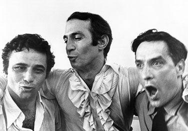 Husbands. Ben Gazzara, Peter Falk, John Cassavetes.