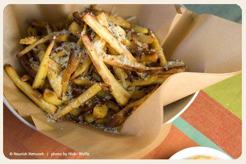 Garlic Parsnip Fries