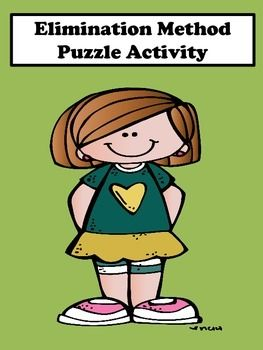 Systems of Equations: Students will enjoy this elimination method scrambler puzzle activity. This activity is great for remediation and differentiation. It contains two levels.  Level one is for students who struggle and level two for students who desire to be challenged.
