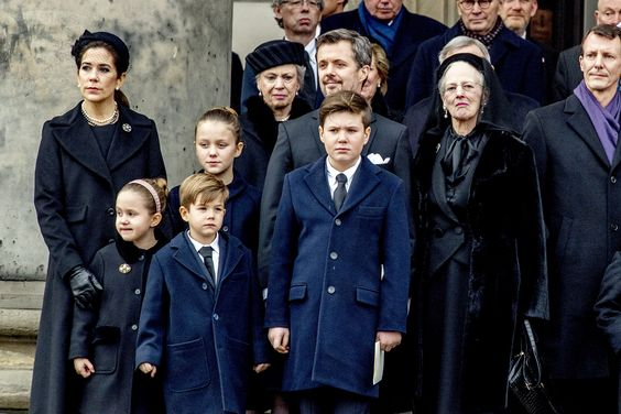 Danish Royals Attend Funeral for Prince Henrik, the Queen's Husband Who Wanted to Be King