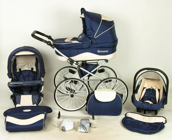 Shopping romantic classic baby,Carrycot, stroller, car seat. Large ...