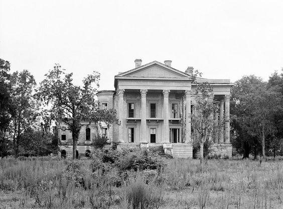 Belle Grove Plantation Floor Plan | Belle Grove Plantation Mansion, White Castle Louisiana Pictures 1