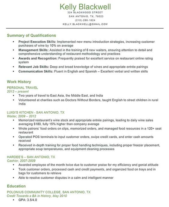 Resumes are one of the key ingredients in getting an acting career - fill out a resume