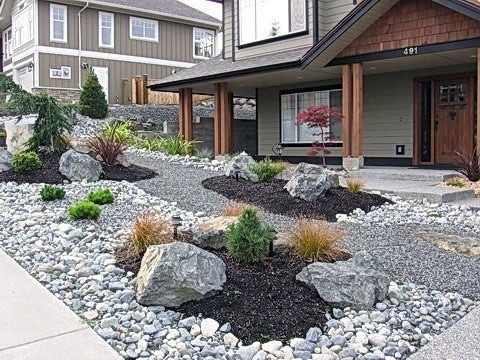 Rock Garden Ideas For Backyard And Front Yard Punkprojects