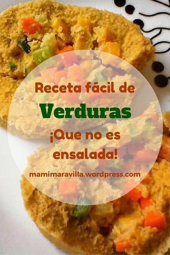 Cómo preparar verduras sin hacer ensalada | Fabi Maravilla
