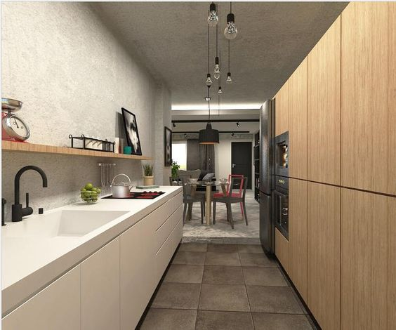 Kitchen without top cabinet and hood | küche | Pinterest ...