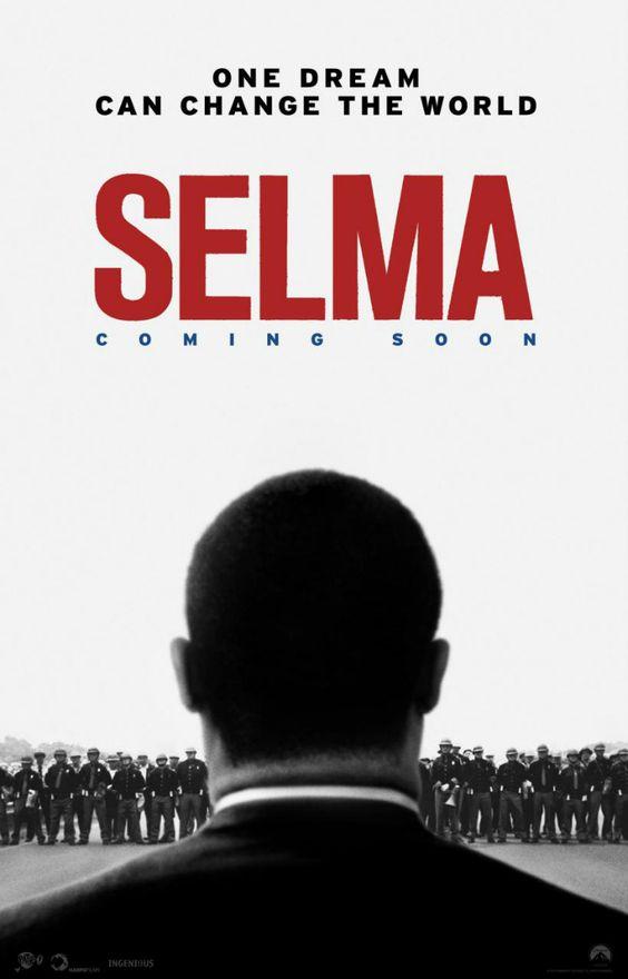"""4 nominations pour Selma aux Golden Globes 2015 : Meilleur film dramatique, Meilleur réalisateur (Ava DuVernay), Meilleur acteur dans un drame (Davie Oyelowe), Meilleure chanson """"Glory"""" (John Legend, Common)"""