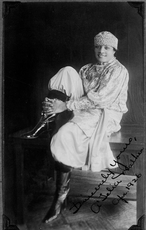 Harlem businesswoman A'Lelia Walker was born on June 6, 1885. The only daughter of millionaire business leader Madam C. J. Walker, Lelia Walker was born in Vicksburg, Mississippi. She grew up in St. Louis and attended Knoxville College in Tennessee before entering the family business. She helped her mother found the Madam C. J. Walker Manufacturing Company in Denver in 1906.