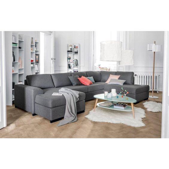 c'est exactement le canapé qu'il nous faut pour la future maison !!!! Angle, 2 versions, droite et gauche, portland La Redoute Interieurs   La Redoute
