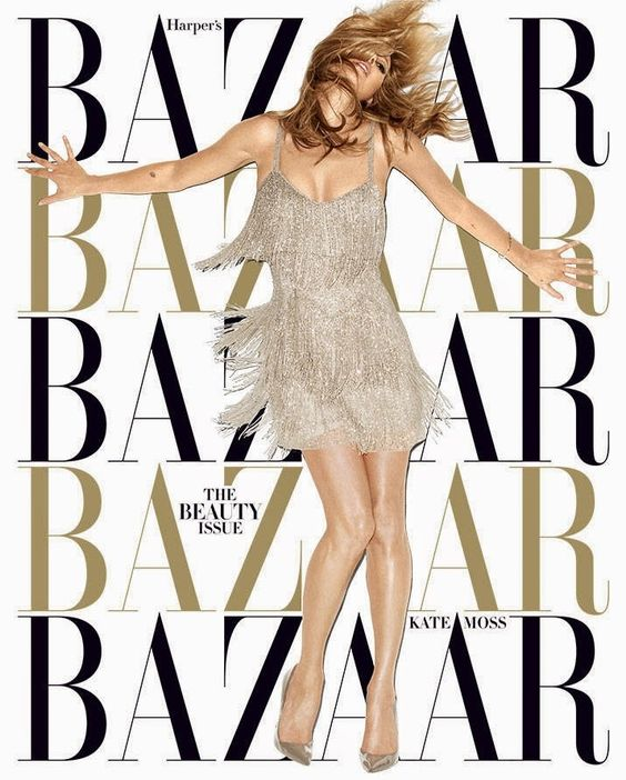 Harper's Bazaar US May 2014 Subscription Cover | Kate Moss Universe