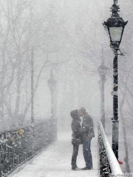 Romantiek in de winter