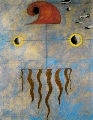 """Joan Miró Ferrà (1893-1983). """"Cabeza de labriego catalán"""".:"""