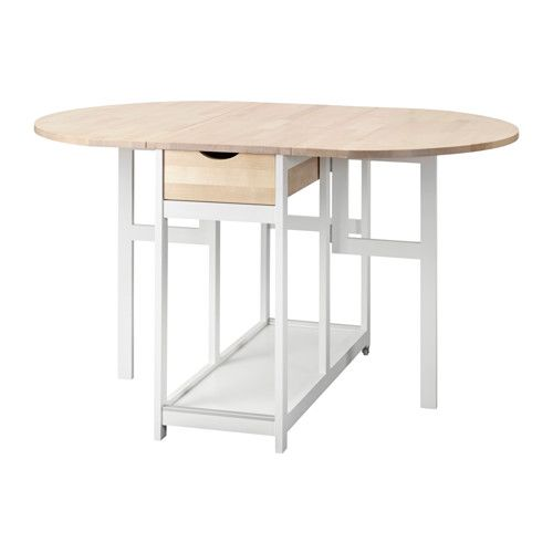 Jugendzimmer Ideen Mädchen Ikea ~ HEDESUNDA Drop leaf table  IKEA  kitchen  Pinterest  Ikea, Folding
