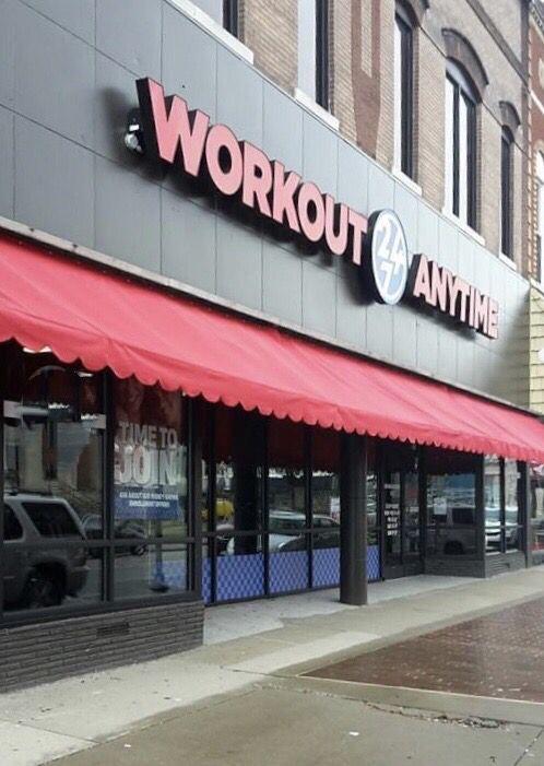 Madisonville Kentucky Anytime Fitness Gym Franchise Strength Training Equipment