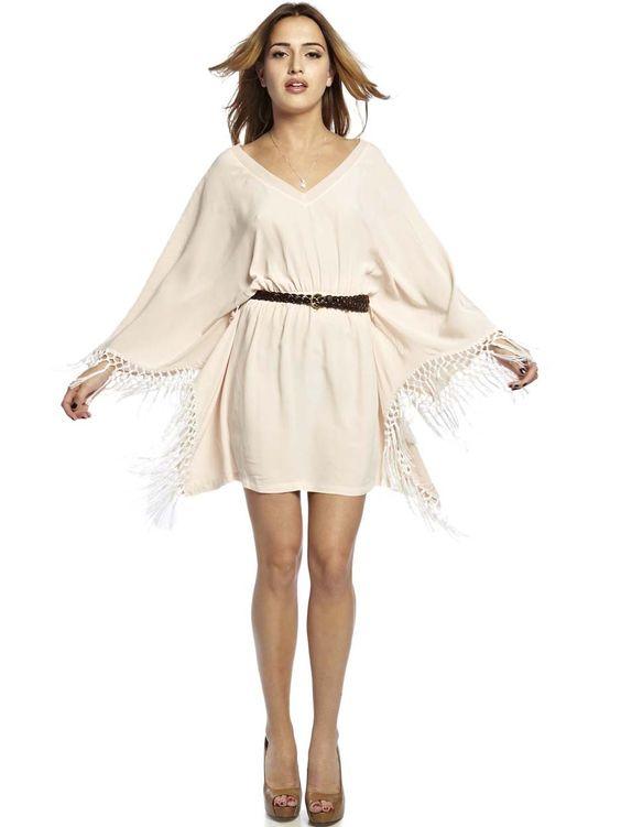 Natalie Poncho Mini Dress