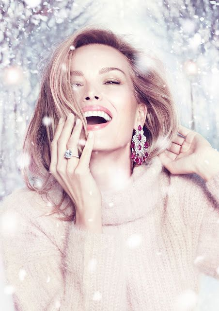 Fashion fan blog from industry supermodels: Petra Nemcova - Chopard Watches and…