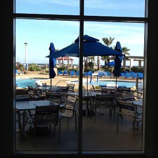 Hilton Pensacola Beach....Love it!!