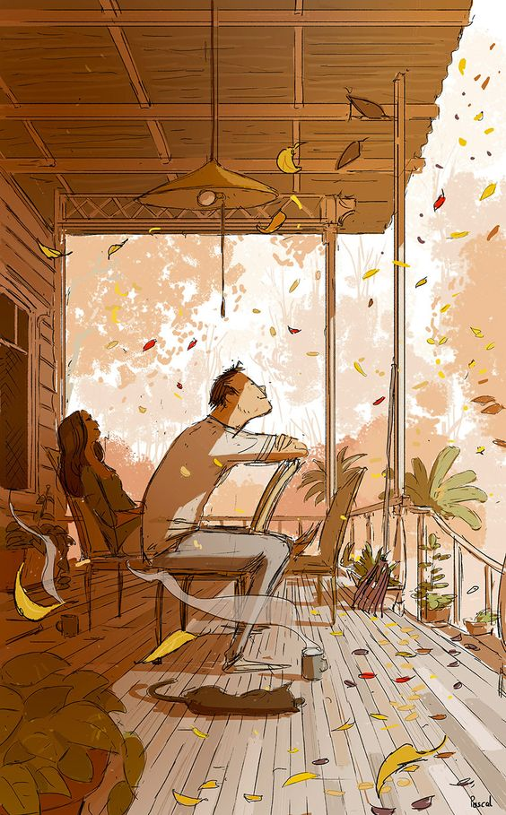 Pascal Campion, Fall came back. #pascalcampion