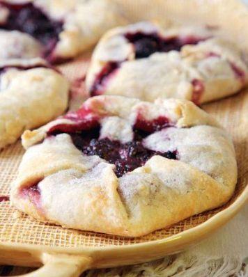 Medieval Food: Rustic Fruit Tarts                                                                                                                                                     More