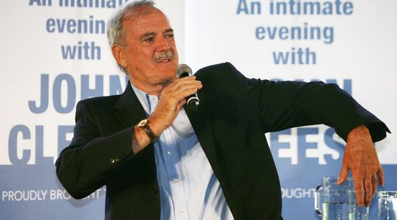John Cleese trolls Swedish hotel for problems worthy of 'Fawlty Towers' episode  http://pronewsonline.com  Cleese was in Sweden touring his show 'Last Time to See Me Before I Die' © Will Burgess