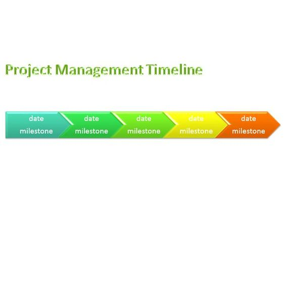 Word Timeline Template