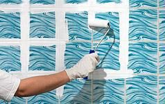 Fliesen in Küche und Bad renovieren - Fliesen lackieren | Schöner Wohnen